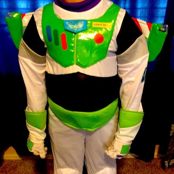 Disney Buzz lightyear costume outfit sz 9-10
